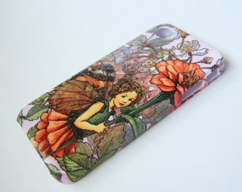 Little Fairy with Red Flower iPhone 3, 4/4S, 5/5S/SE, 5C, 6 or iPod Touch Case - Hard Shell Phone Case
