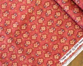 Tradewinds Rusty Orange Small Floral Fabric Yardage from Spectrix