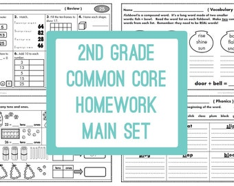 2nd Grade Common Core Homework
