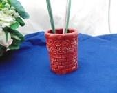 Brick Wall Pencil Holder/Bud Vase