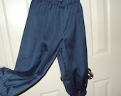 Knickers in Teal gabardine--Design you own costume for renaissance, colonial, Newsies, golfer