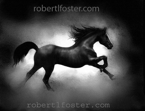 Horse art, horse print, horse painting, race horse, colt painting, stallion, nag, mare, bronco, racing, horse gallop,  steed, racing