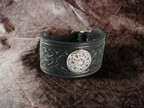 Leather Cuff - The Woven Circle