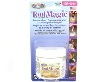 TOOL MAGIC - 2 oz Jar - Temporary and Removable Tool Tip Coating - Reduce Scratches When Working with Wire
