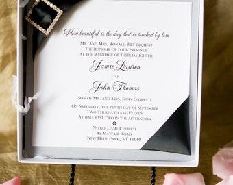 Couture Boxed Invitation