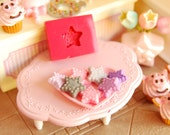 Star2 Mold/Mould for Resin, Polymer clay & Air dry Clay Cabochon size: 1 cm diameter x 0,2 cmthickness
