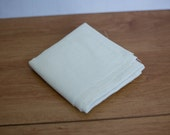 Destash - Ivory Linen Fabric
