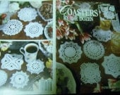 Thread Crocheting Coaster Patterns Coasters By The Dozen Leisure Arts 3081 Patricia Kristoffersen Crochet Pattern Leaflet