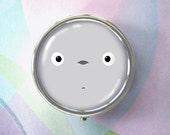 Big Face - Tonari no Totoro -  original art pill box - single or triple compartment