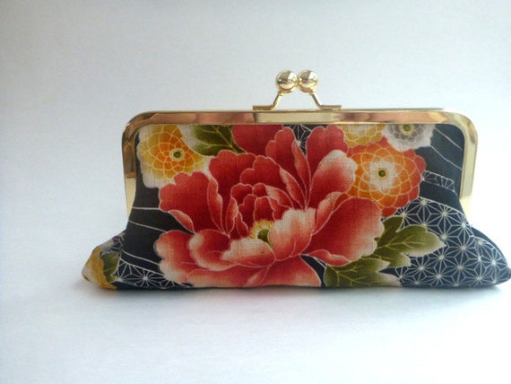 wallet, clutch, cosmetic bag, 30% OFF, coupon, Black Friday, wallet, clutch, cosmetic bag, Cyber Monday, coral, black, salmon, Asian