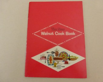 Vintage Cook Booklet The New Walnut Cook Book from Diamond Walnut Growers
