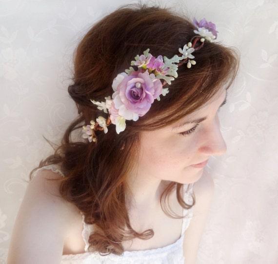 Flower Crown Purple