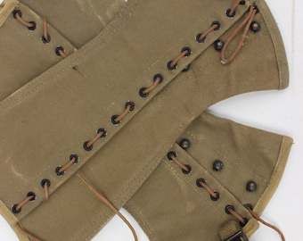 US Military Chaps 1938 Vintage Army Military Collectible WWII Collectibles Equestrian Vintage Army Chaps Steampunk Boho