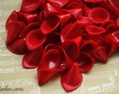 Beads - 20 Opaque Red Calla Lily Beads
