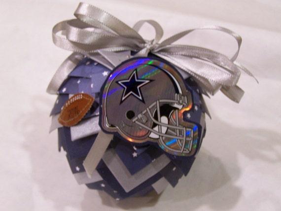 Items similar to Dallas Cowboys Christmas Ornament ...