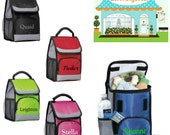 RESERVED Custom Logo 5 Personalized Lunch Bags Back To School Sale