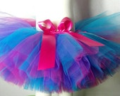 Custom Order for Tracy: Medium Classic Purple, Teal, Pink, and Shocking Pink Tutu