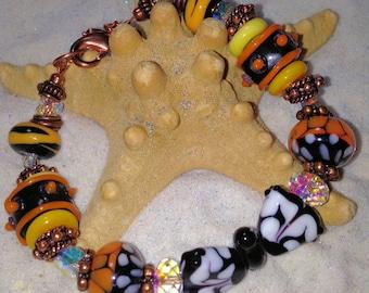 Monarch butterfly bracelet