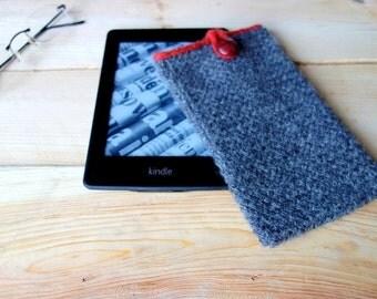 Tweedy Kindle Cover PDF Knitting Pattern