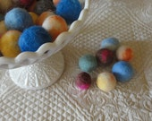 Natural Kitty Ball Toys Made with Alpaca Catnip Free Set of 6