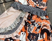 Halloween BOOtique girls  dress etsykids team - cre8tive