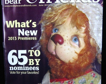 Teddy Bear and Friends Magazine June 2013 Issue