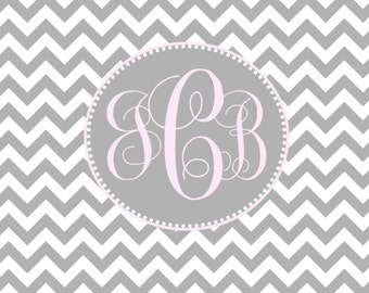 Chevron note cards personalized stationery classic  elegant notecards thanks you notes shower giftt monogram note cards