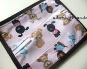 Chalkimamy Princess Puppies TRAVEL chalkboard mat placemat (a)