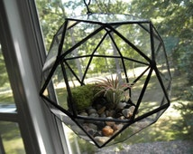 Round Hanging Glass Terrarium