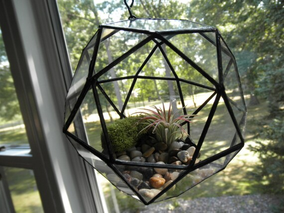 terrarium en verre rond suspendu par sandhillshores sur etsy. Black Bedroom Furniture Sets. Home Design Ideas