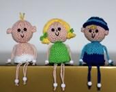 Coffee Capsule Kids - INSTANT DOWNLOAD PDF Knitting Pattern