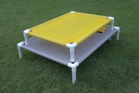Dog Bed Mesh Pet Cot Bed, Design For Outdoor Use, Easy To Maintain, 8 Mesh Pet Screen Colors 28x36x8 Small To Medium Dogs Up To 80 Pounds.