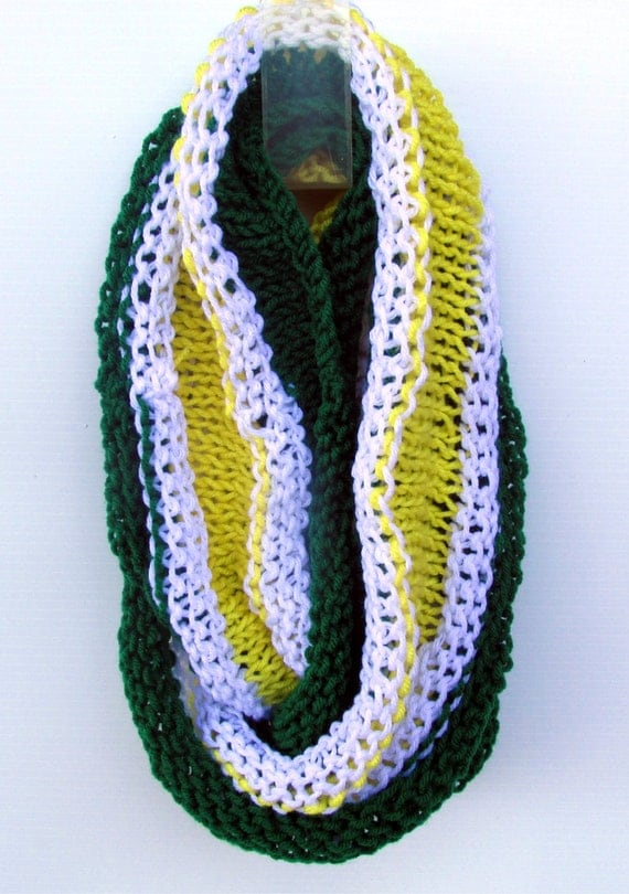 items similar to green bay packers scarf packer infinity