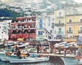 Capri Italy Photo Art Notecards