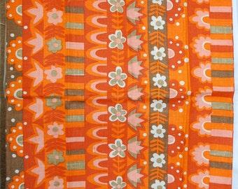 Vintage VERA Floral Print Kitchen Towel