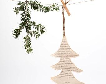 SALE  sewn paper tree