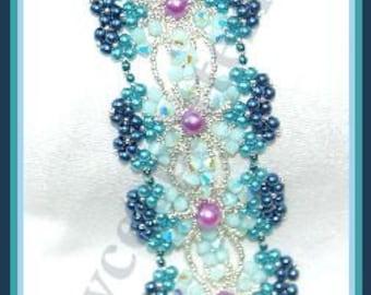 Beading Tutorial - Kalea bracelet - Triangle Weave