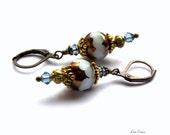 Italian Renaissance Crystal Fashion Earrings