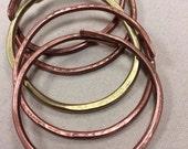 Set of 3 Solid Copper Tex...