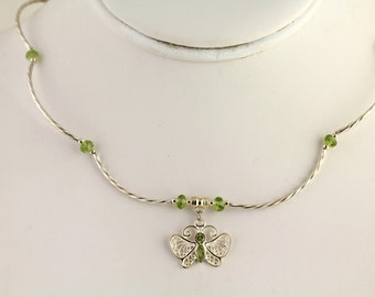 Peridot Necklace. Listing  157486015