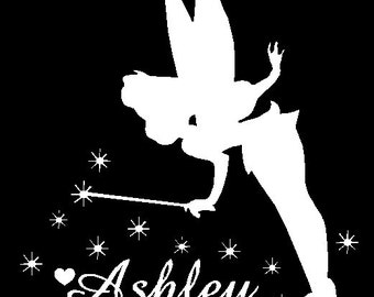 Tinkerbell Car Decal Custom Made to Order Personalize