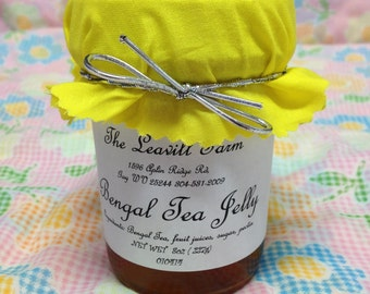 Bengal Spice Tea Jelly, 8 oz Regular or sugar free
