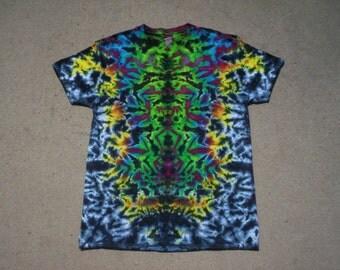 V Neck Tie Dye Size Large