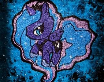 Princess Luna My  LIttle Pony Patch  Iron on Patch