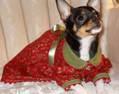 Doggie Holiday Dress