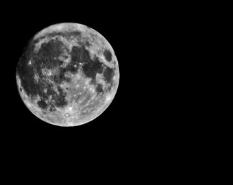 Hundred Chops in Old Dome - Full Moon - 8x10 Fine Art Photograph