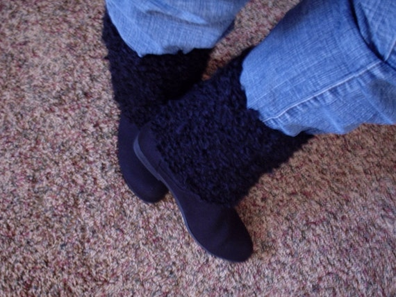 Beginner Crochet Boot Cuff Pattern : PATTERN: Boot Cuff crochet pattern beginner, Short cuff or ...
