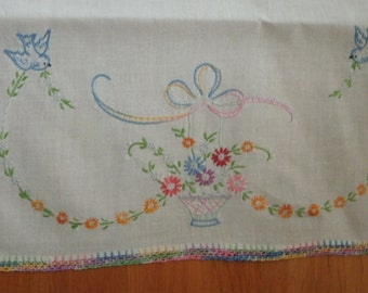 24 inch embroidered scarf