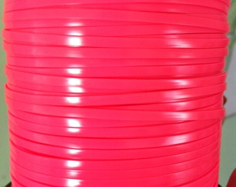 10 Meters of neon Pink rexlace, perfect for adding to dread falls