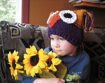 Owl hats - customize your hat - babies and kids sized - all ages - photo prop - cute animal hat - gift - many colors